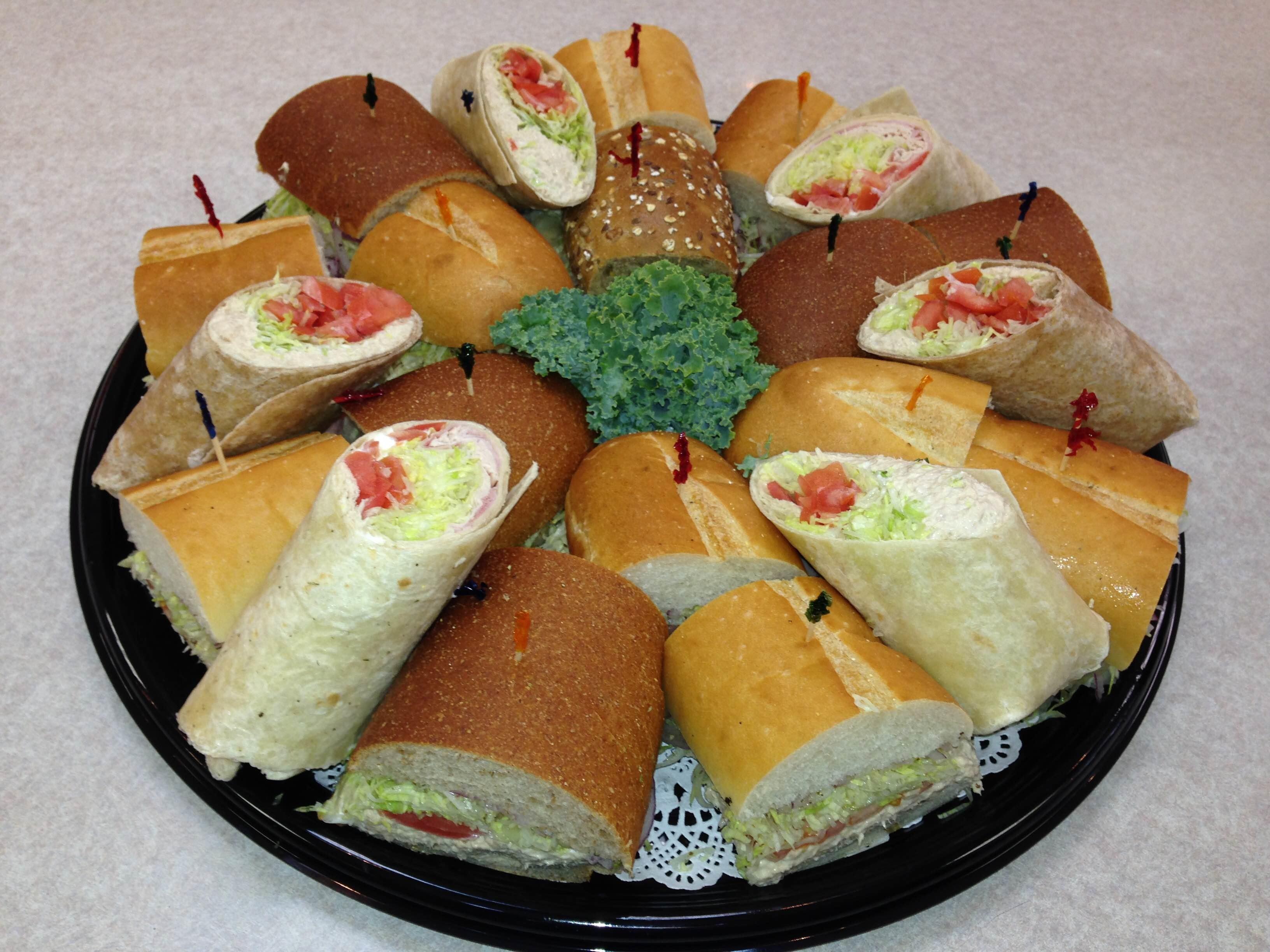 Sub & Wrap Platters